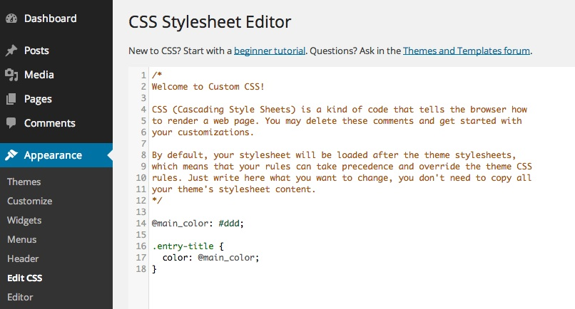 thesis custom css code Get someone to design the navigation menu add in the custom css code   custom sidebar without any coding using thesis wordpress theme.