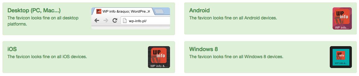 Favicon - ikona witryny wyglądająca świetnie na wszystkich